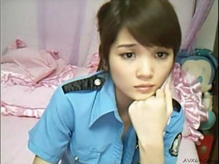 Asian Chinese Cute Teen Uniform Webcam