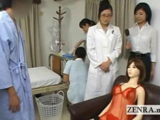 Bizarre Japan contaminate handjob penis measuring research Stream Glaze