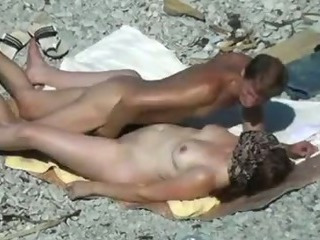 Beach Mature Nudist Outdoor Voyeur