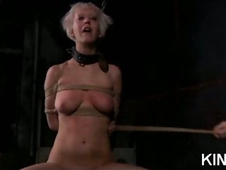 Bound Babe with Hot Expound