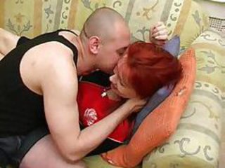 Russian mom is a horny redhead tubes