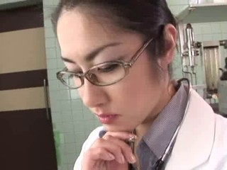 Doctor Glasses Japanese Teen
