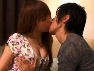 Japanese Kissing Teen