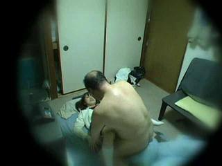 Asian Old and Young Voyeur