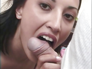 Blowjob Brunette Teen