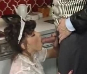 Blowjob Maid Pornstar Uniform Vintage