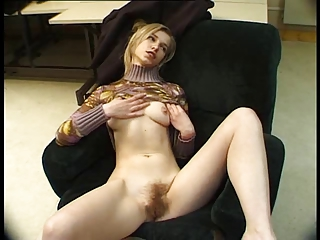 Blonde French Hairy Skinny Teen