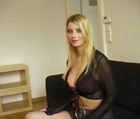 Big Tits Blonde Casting Cute