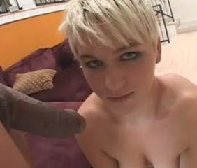 Blonde Interracial Teen