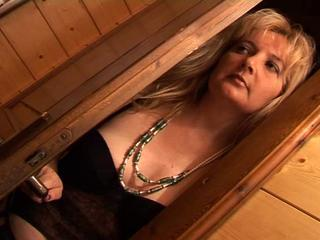 Anal Blonde European Italian Mature Mom Old and Young