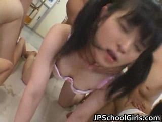 Asian Groupsex Orgy School Teen