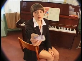 Brunette Cash Russian School