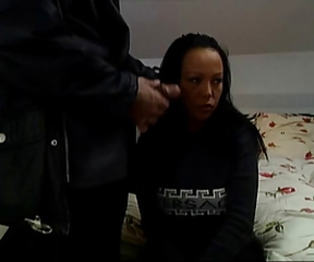 German girl Barbara talked into fucking at a tourist house