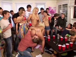 Drunk girls turn into sluts