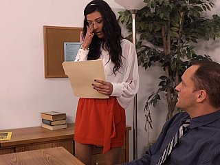 French Office Secretary Skirt Teen