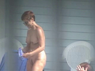 Beach Mom Nudist Voyeur
