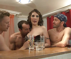 Drunk European French Groupsex