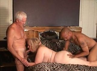Blowjob Granny Interracial Pornstar Threesome