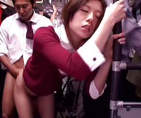 Asian Bus Doggystyle Japanese Teen