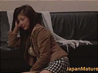 Chisa Kirishima Asian MILF gives amazing part2