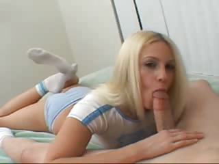 Blonde Blowjob Panty Pov Teen