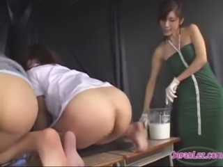 Asian Ass Threesome Toy