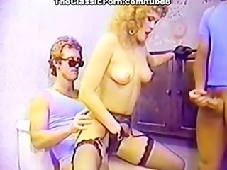 Hardcore Pornstar Threesome Vintage