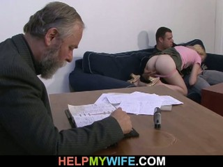 Old man pays wife's lover