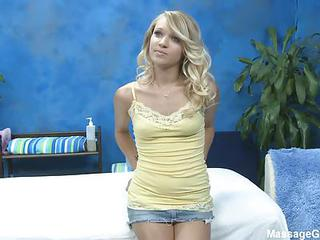 Complete Key Cute Blonde Girl Teagan S Takes Off Her Mini Skirt As Shes Going To Massage Mans Body Wearing Just Her Yellow Panties. Shes An Angelic Girl That Loves Doing Dirty Dirty Things!
