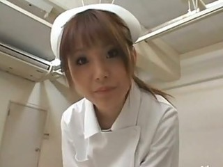 This Busty Asian Nurse Knows Hot To Treat Her Patients
