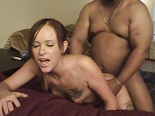 Doggystyle Hardcore Interracial Tattoo Teen