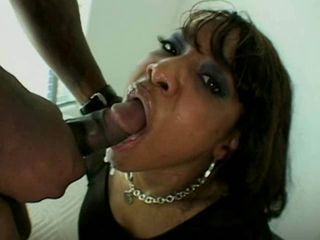 black chick gettin ass fucked...