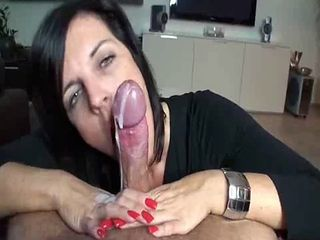 Blowjob Cumshot Homemade Mature Pov