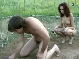 Outdoor Prison Slave Teen