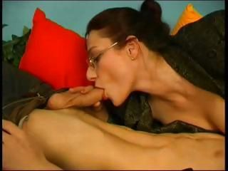 Russian MaTure Teacher And ST...