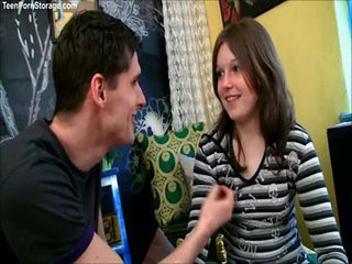 Sophy is a naughty little German teen with a hunger f...