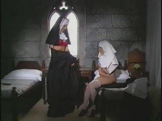 Lesbian Mature and Younger Nun