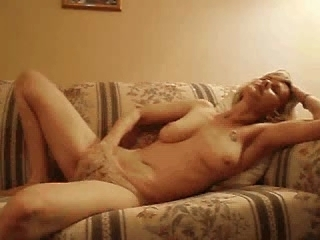 MILF Masturbates with Hand in