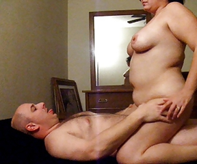 Homemade Older Riding Wife