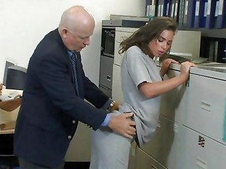 Babe Cute Daddy Office Old and Young