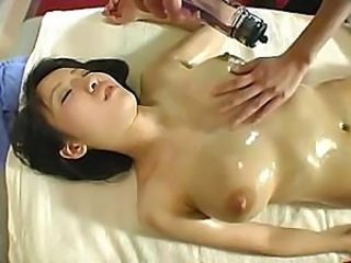 Asian Babe Japanese Massage Oiled