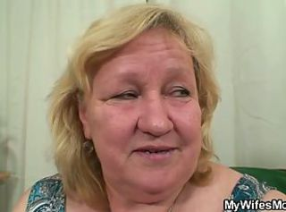 Huge granny is banged by her son& 039;s friend