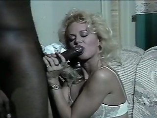 Blonde Blowjob Interracial  Vintage