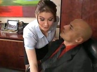 Hot Busty Secretary...F