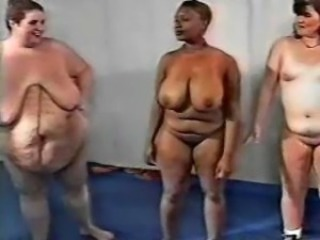 SSBBW approximately gym orgy
