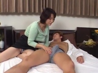 Asian Mature Mom Old and Young
