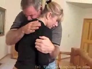 Sweet Blonde Receives A Kind And Loving Spanking