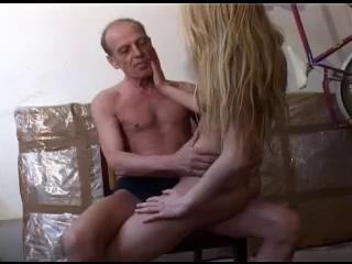 Amateur Blonde Daddy Daughter Old and Young Teen