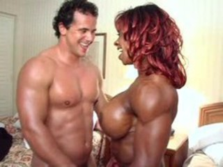 Big Tits Ebony Interracial  Muscled