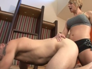 Briana - Mixed Wrestling Strapon